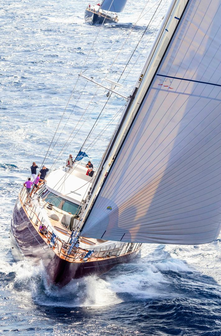 Blushis one of Camper & Nicholsons many luxury sailing yachts available for charter.Newly refitted in beautiful ...