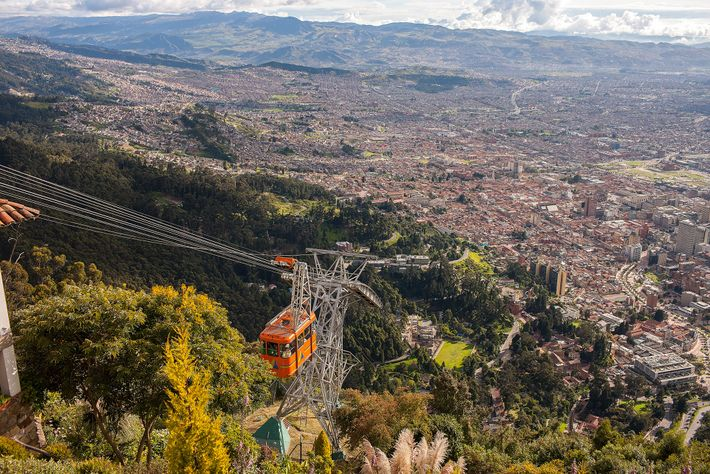 Skip the hike and enjoy a quick cable car ride to the top of Monserrate for ...