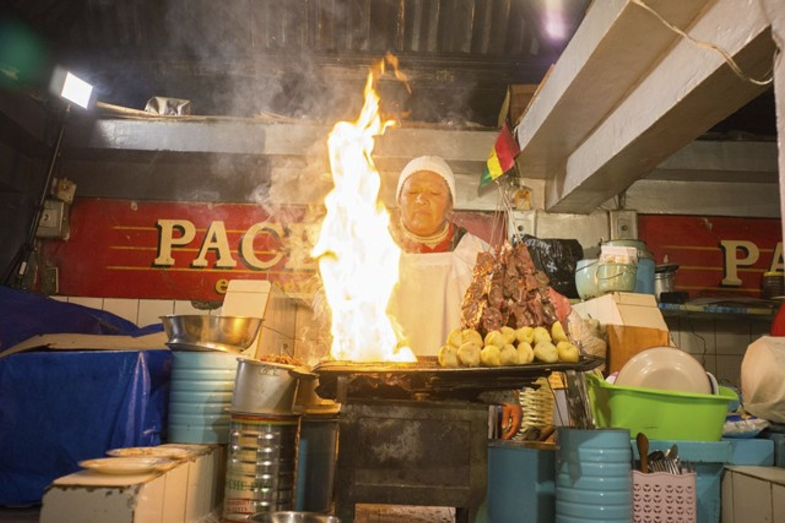 At the chef's table: Kamilla Seidler in Bolivia
