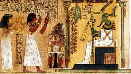 The Book of the Dead was Egyptians' inside guide to the underworld