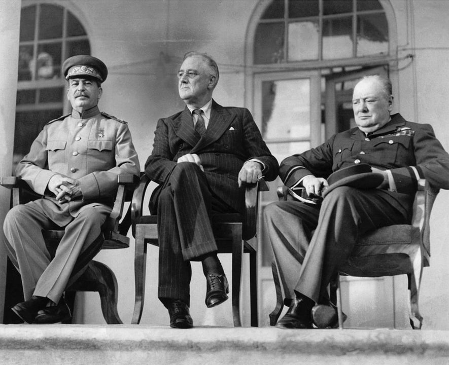 Churchill, Stalin, Roosevelt: how three unlikely allies won World War II
