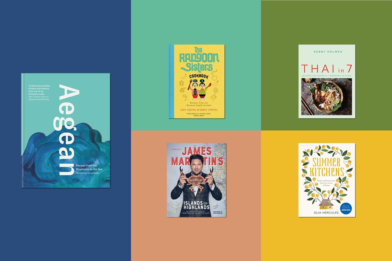 From Britain to Burma: our favourite cookbooks for summer
