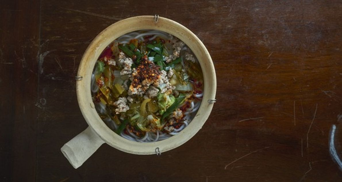 How to make it: Georgia Freedman's clay pot noodle soup recipe