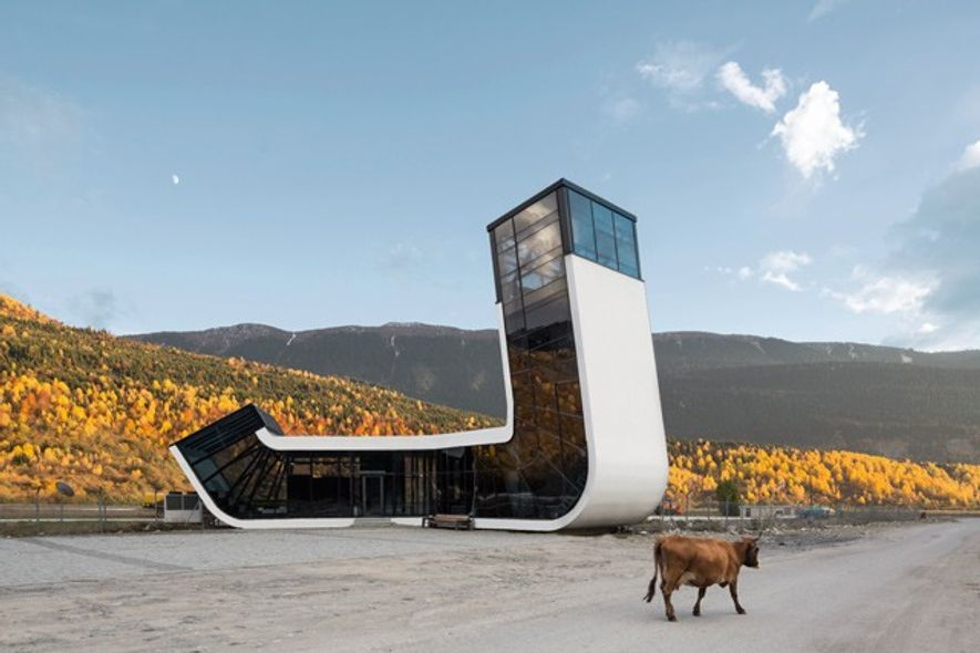 The Art of the Airport: The World's Most Beautiful Terminals by Alexander Gutzmer, Laura Frommberg and ...