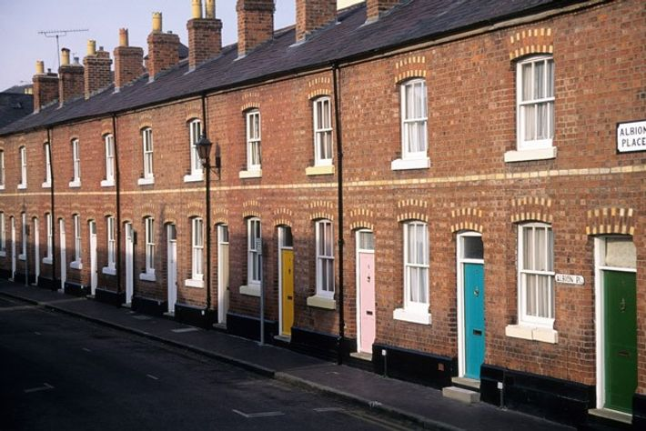 Terraced houses, Leeds