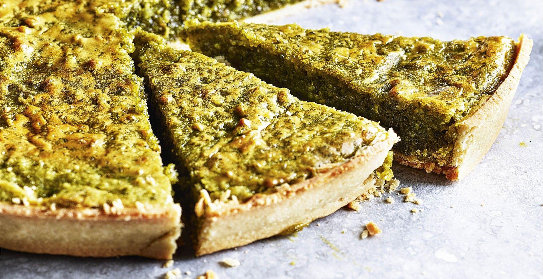 Pistachio orange tart, a recipe from Moorish