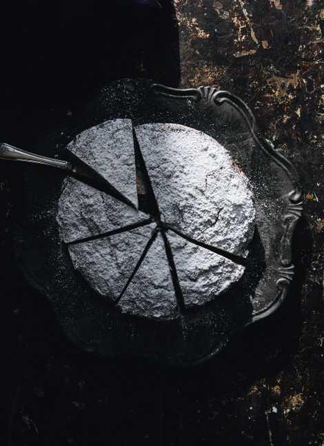 Lard cake