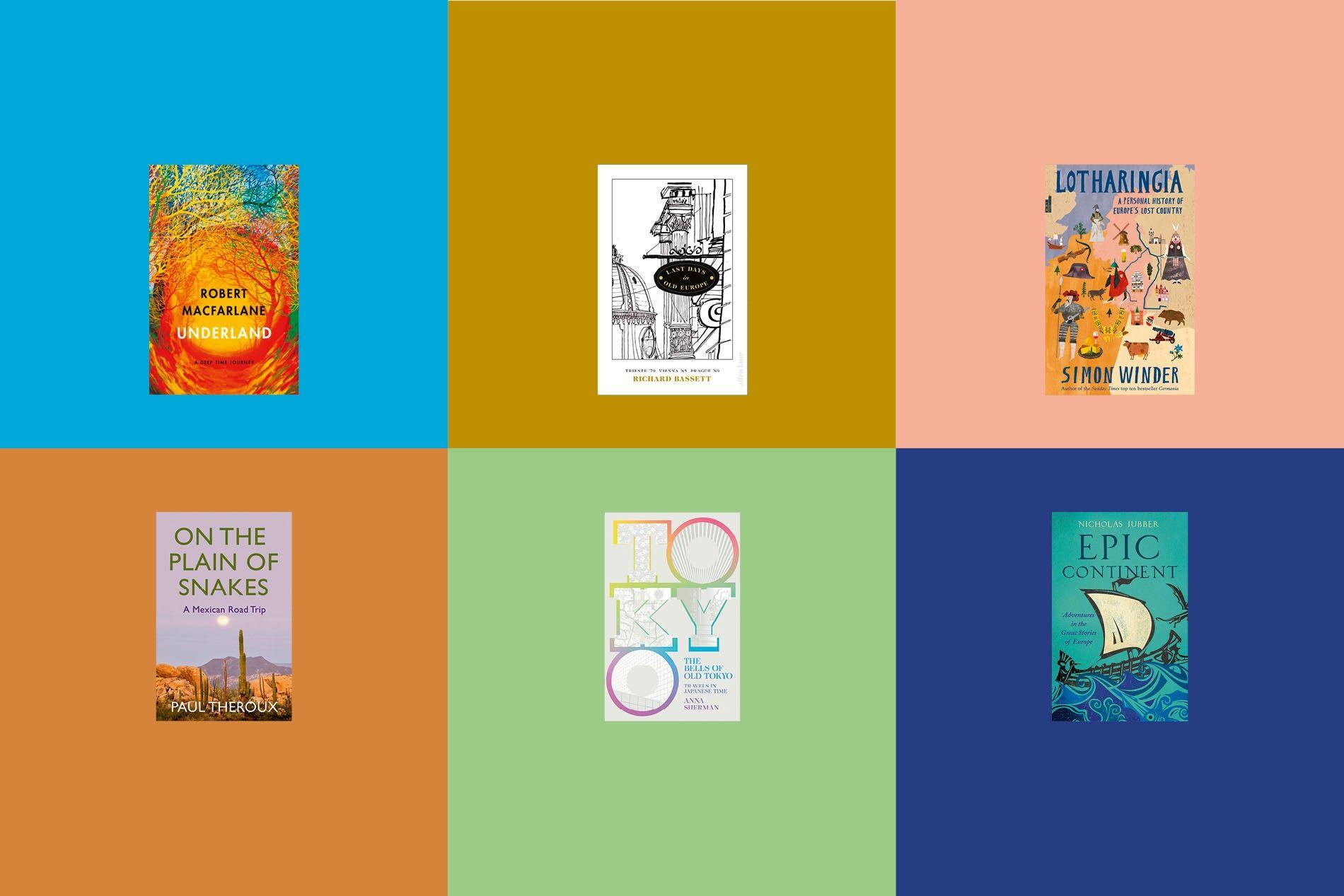 The Edward Stanford Travel Writing Awards shortlist.