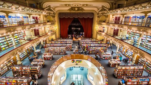 Browse the world's most beautiful bookshop
