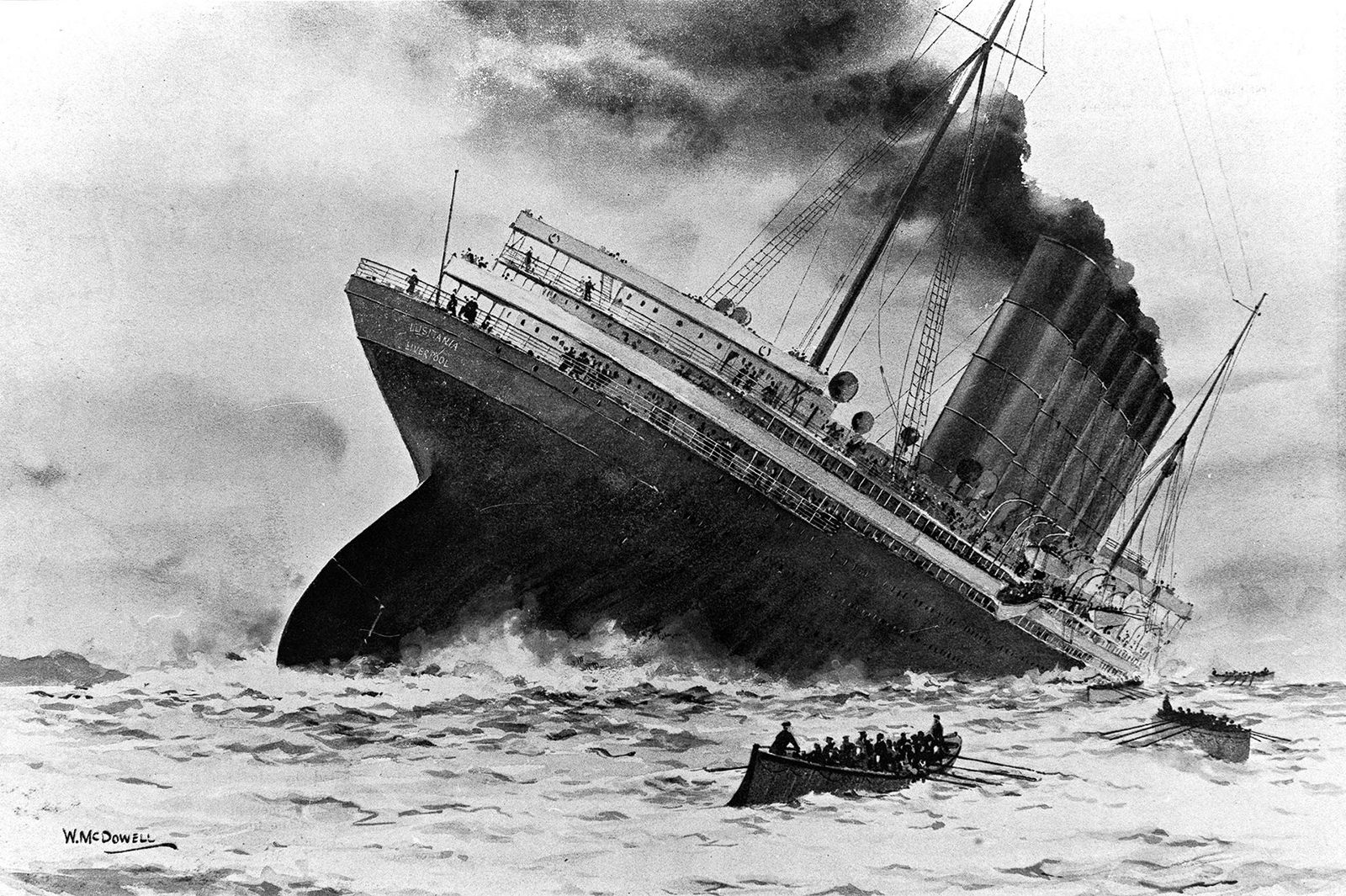 Was There a Cover-Up After the Sinking of the 'Lusitania'?