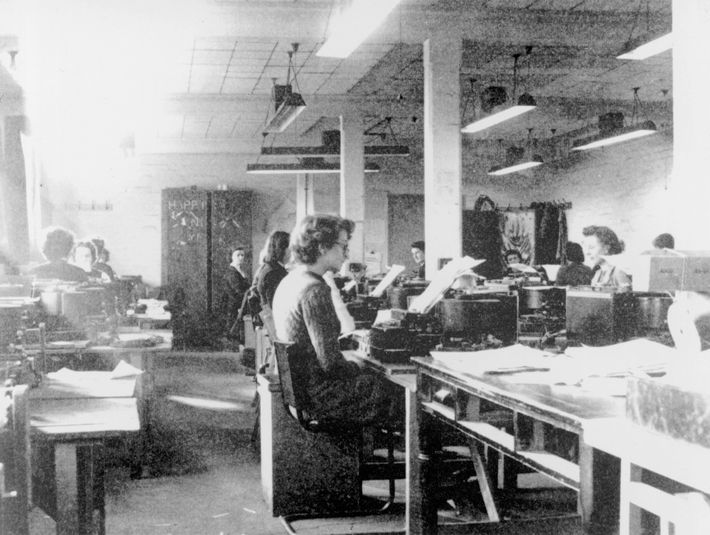These codebreakers use cipher machines at Bletchley Park, the centre for British intelligence during WWII. British ...