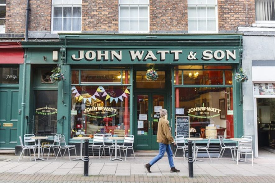 John Watt & Son coffee shop. Image: Annapurna Mellor