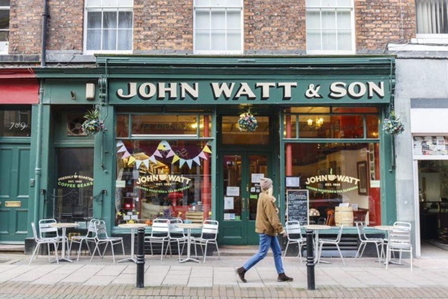 John Watt & Son coffee shop. Image: Annapurna Mellor