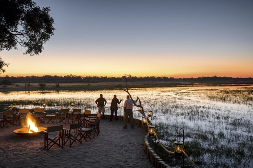 Sanctuary Chief's Camp, Okavango Delta. Image: Sanctuary Retreats