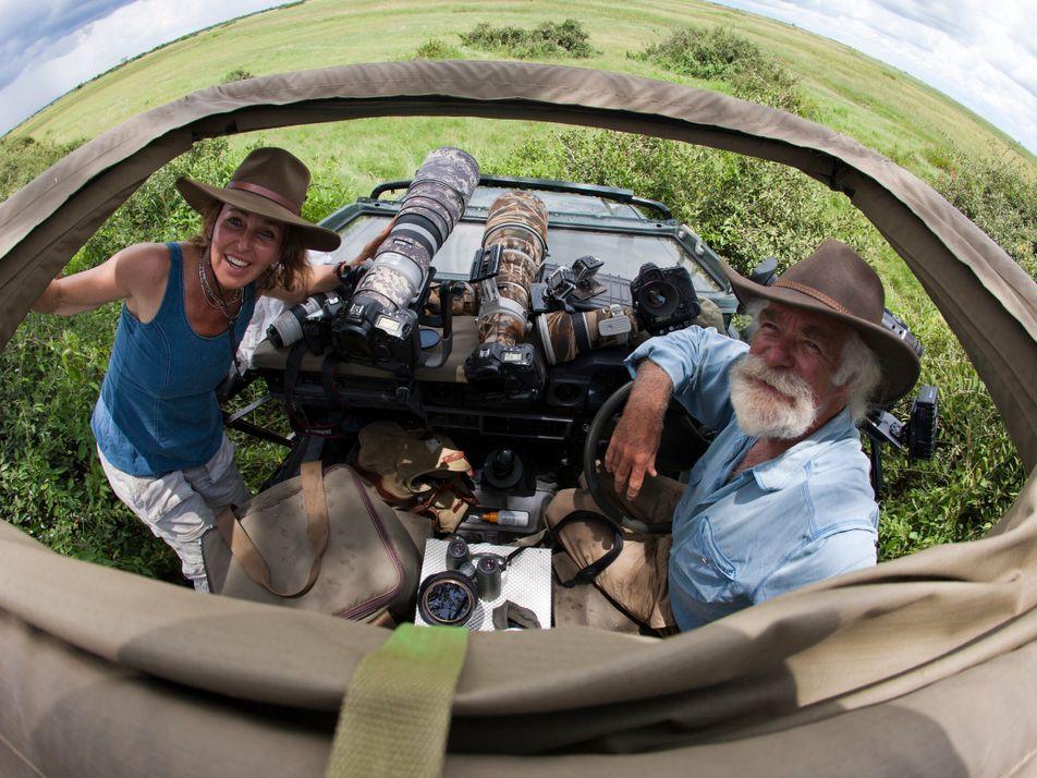 Meet the adventurers: award-winning wildlife filmmakers Dereck and Beverly Joubert