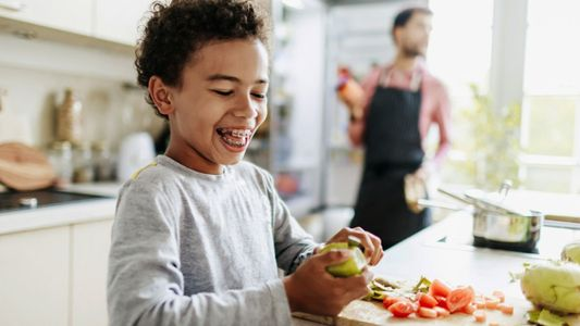 So your kid wants to be a vegetarian …