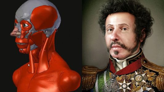 See How an Artist Reconstructed the Face of Brazil's First Emperor