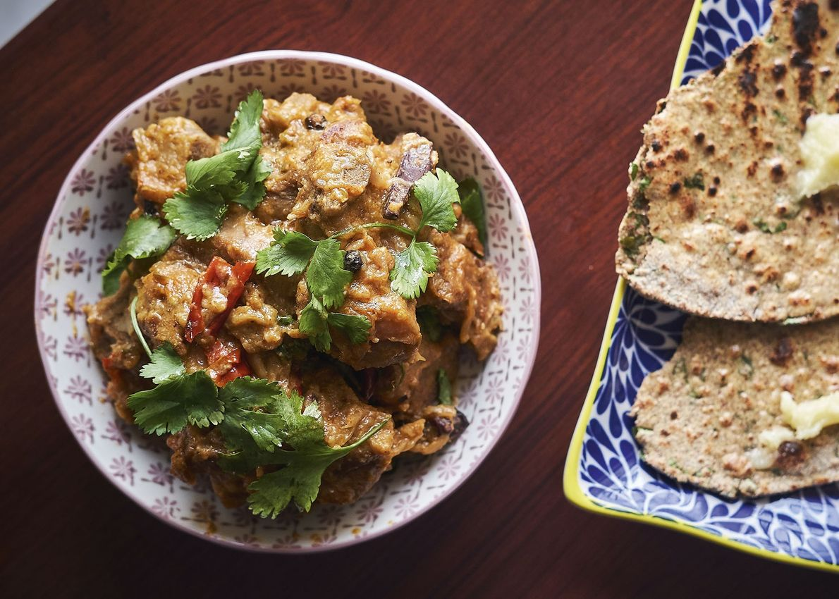 Anil's mutton curry.