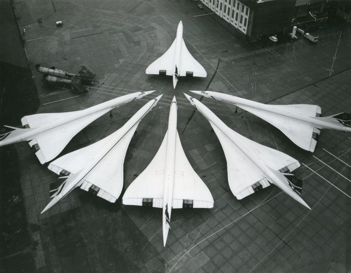 The design of Concorde made it immediately recognisable, and earned it the nickname 'Queen of the ...