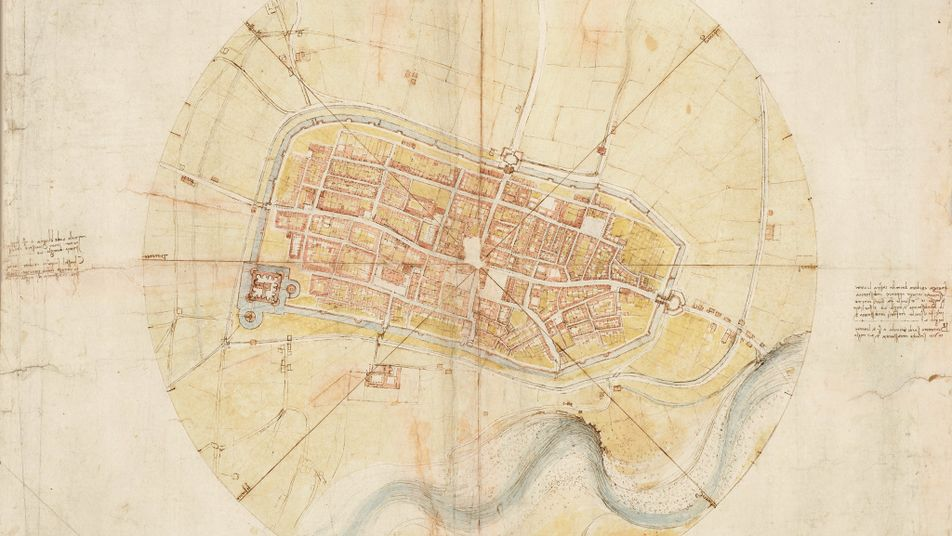Leonardo da Vinci transformed mapping from art to science