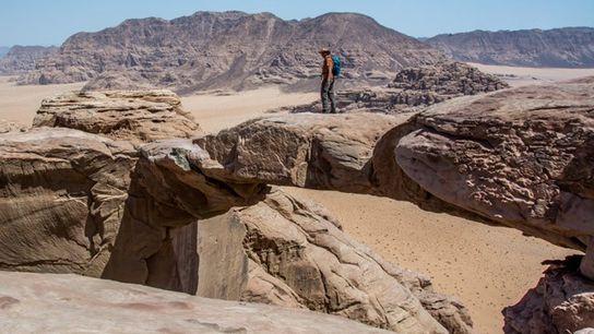 Burdah Rock Bridge, Wadi Rum