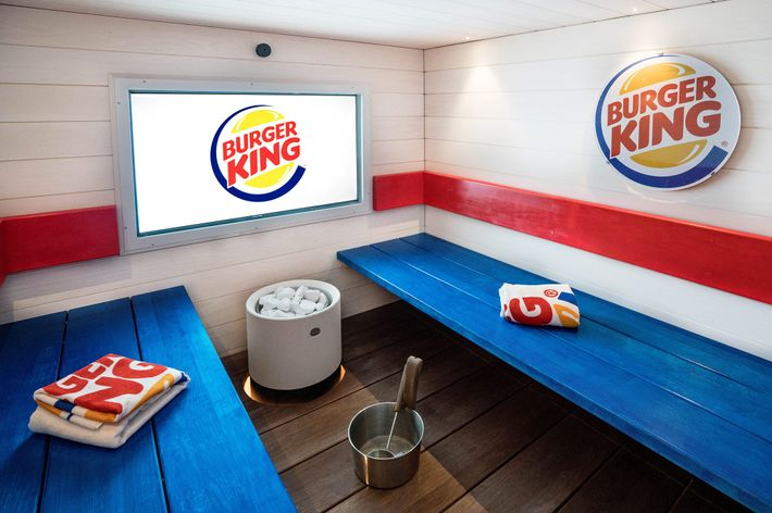 Finland's Burger King opened one of the world's first fast food restaurant saunas in 2016.