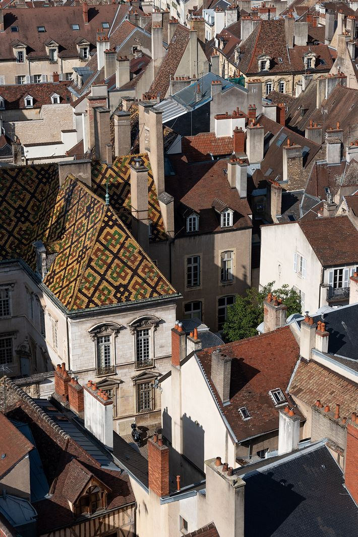 The view from the Philippe le Bon Tower, Dijon.