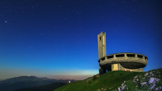 Amazing monuments make for surreal photos on Balkan hilltops