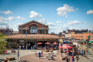 ByWard Market is a buzzing hub of outdoor farmers' market stalls and speciality food shops. It's ...