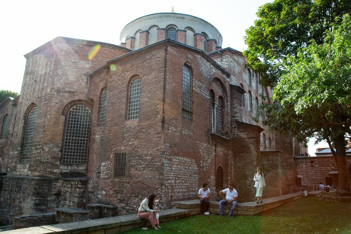 The Hagia Irene church today sits on the grounds of the Ottoman-era Topkapı Palace in Istanbul. ...