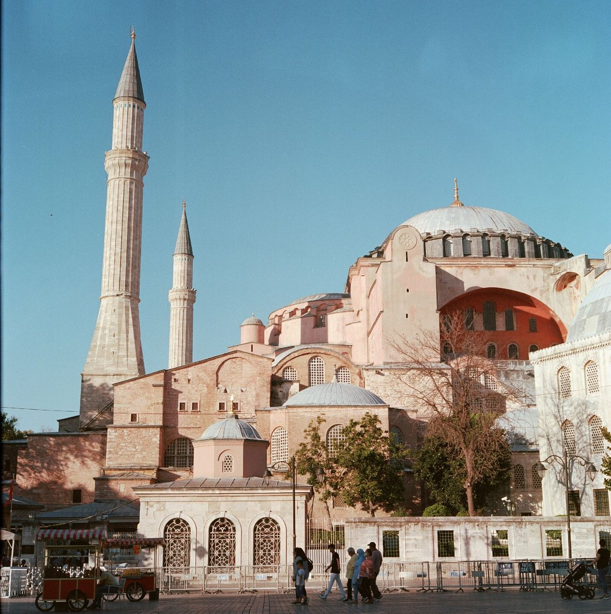 The Hagia Sophia, Istanbul's most famous Byzantine-era monument, was re-converted into a functioning mosque this year ...