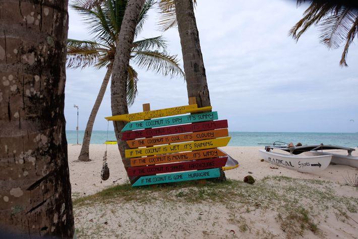 Tobago has tropical temperatures year-round, ranging from 23C-32C.