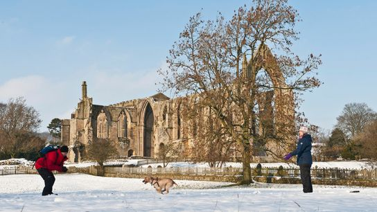 Bolton Abbey in the Yorkshire Dales is a favourite destination for writer Jane Harvey.