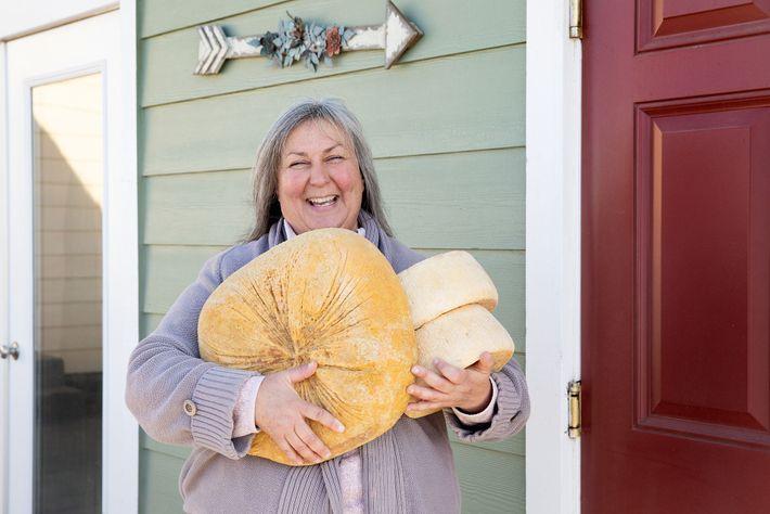 Donna Pacheco, Achadinha Cheese Company.