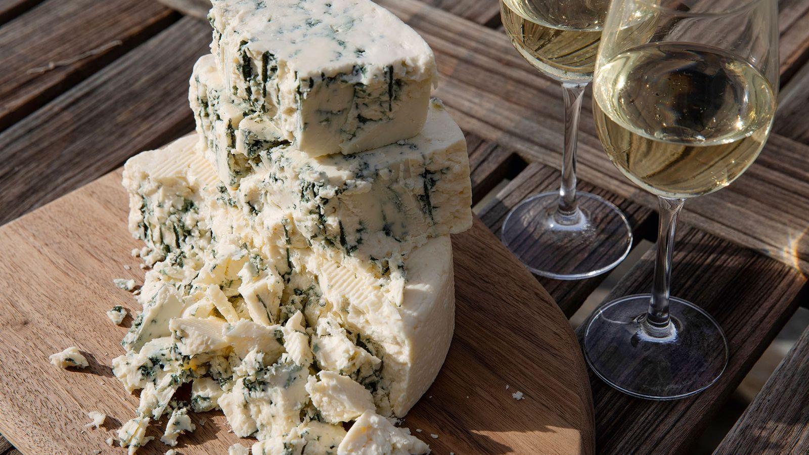 Original Blue, Point Reyes  Farmstead Cheese Company.