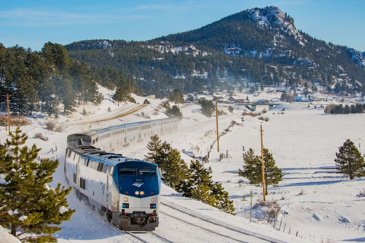 Rolling from the Windy City to San Francisco, the California Zephyr climbs both the Rockies and ...