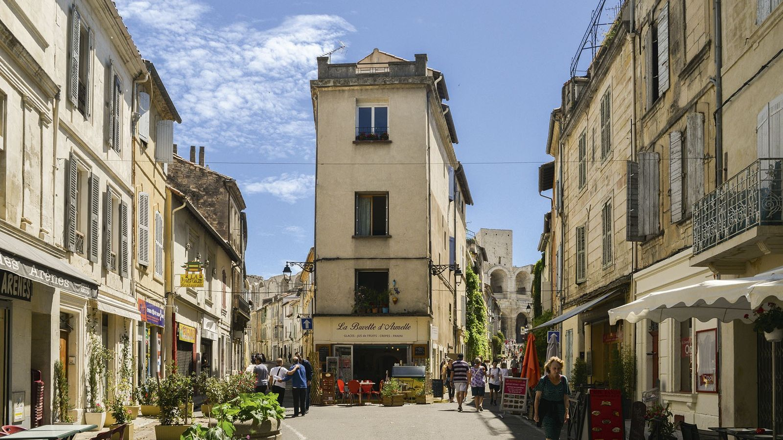 Historic centre of Arles.