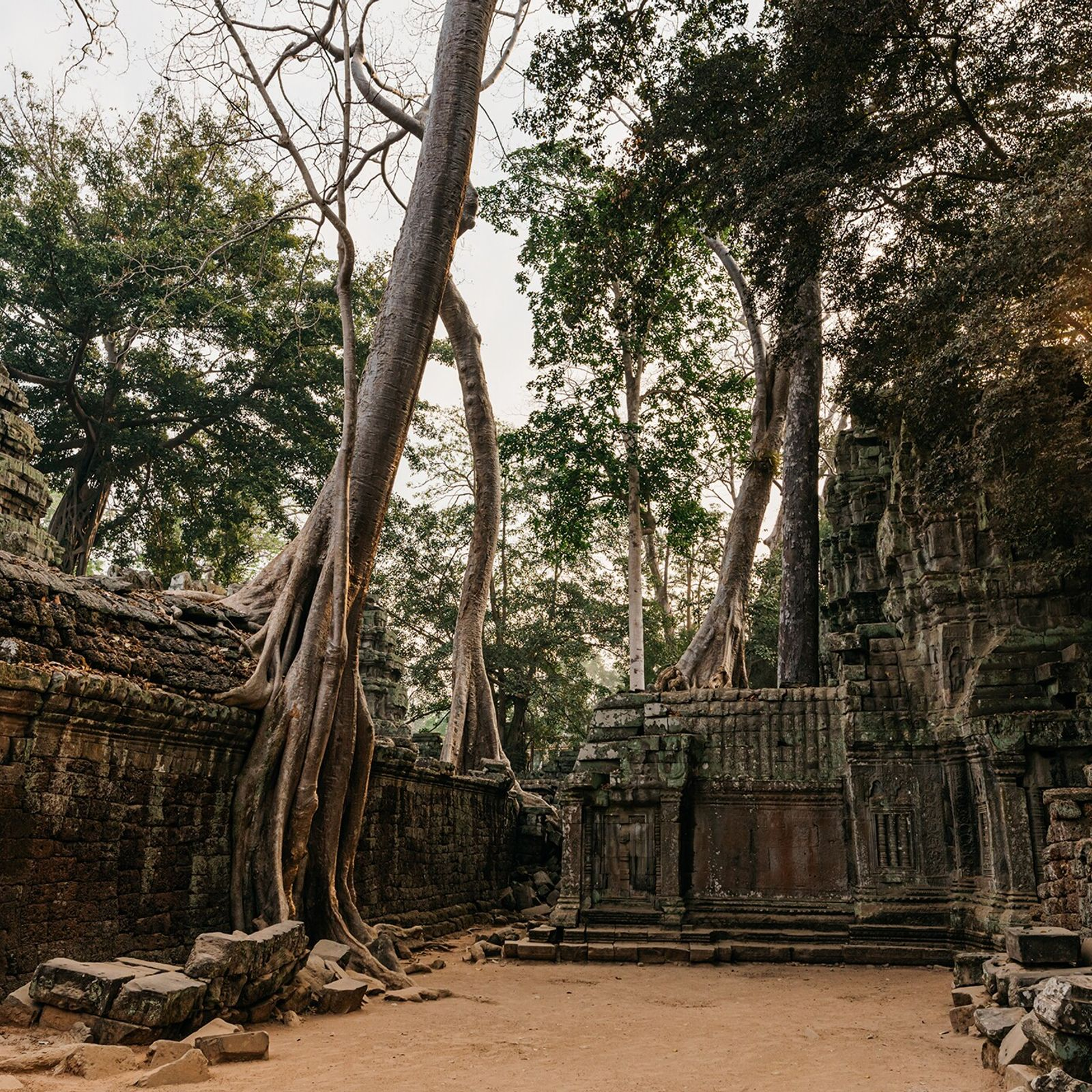 Angkor, the former seat of Cambodia's Khmer Empire, is a sprawling complex that has become one ...