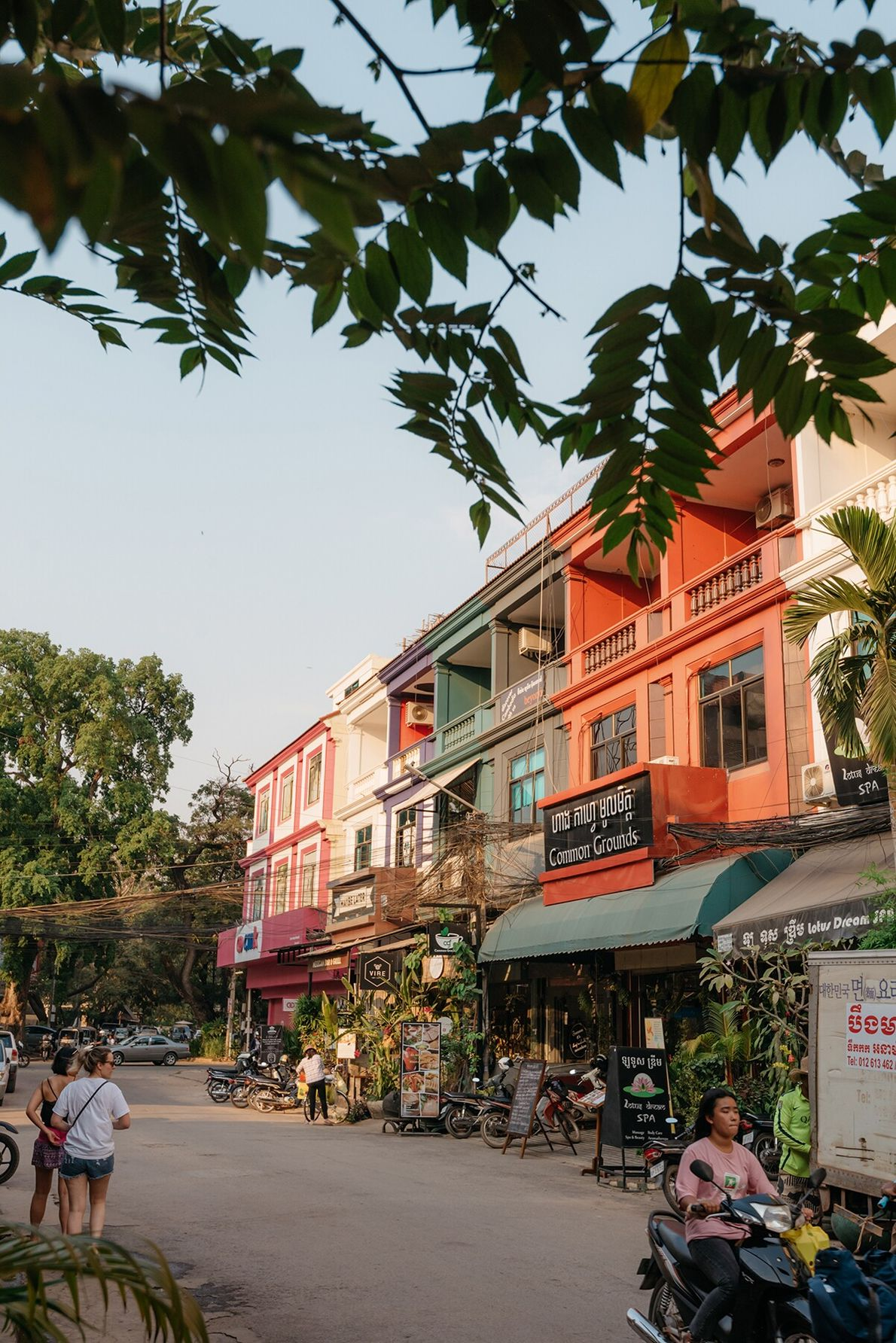 At the southern edge of Angkor lies Siem Reap — a modern city of distinctive crafts and ...