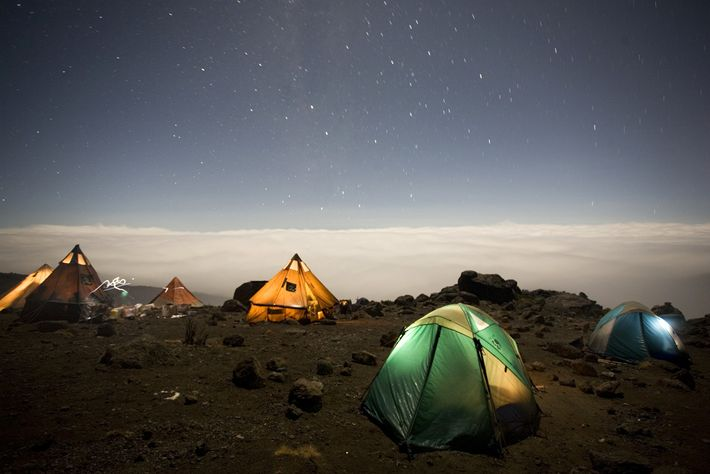 Most campsites come with beautiful views, but your body will thank you for spending time sleeping ...