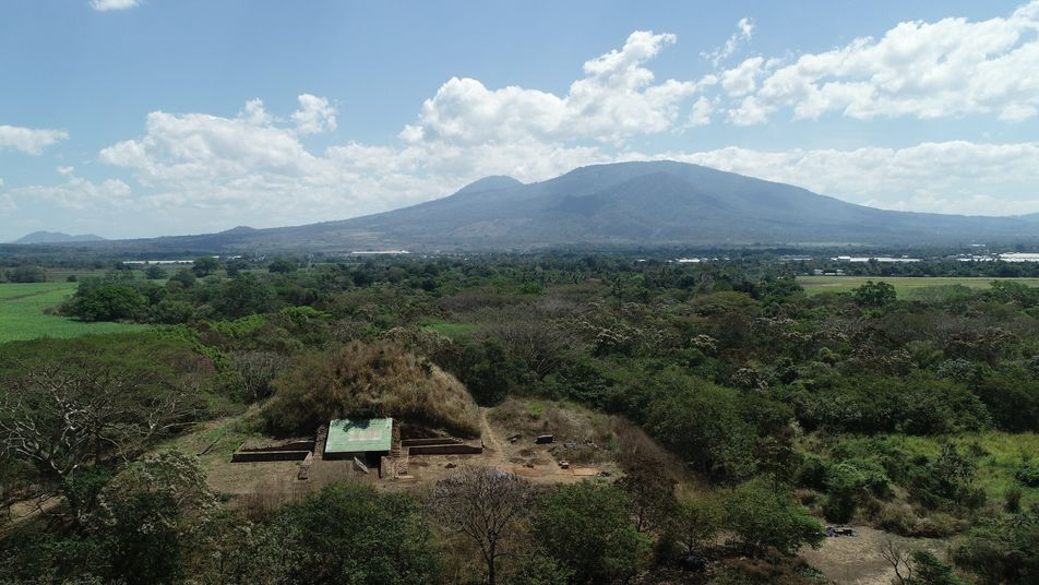 How a pyramid rose from the ashes of a colossal volcanic eruption
