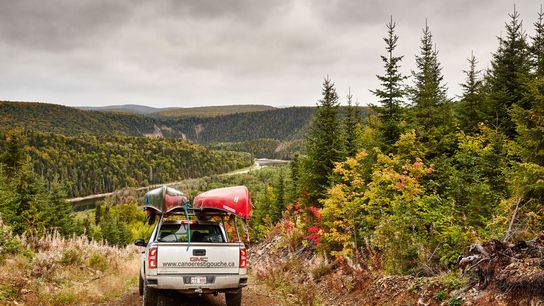 Shots from a day trip canoeing along the Restigouche River.