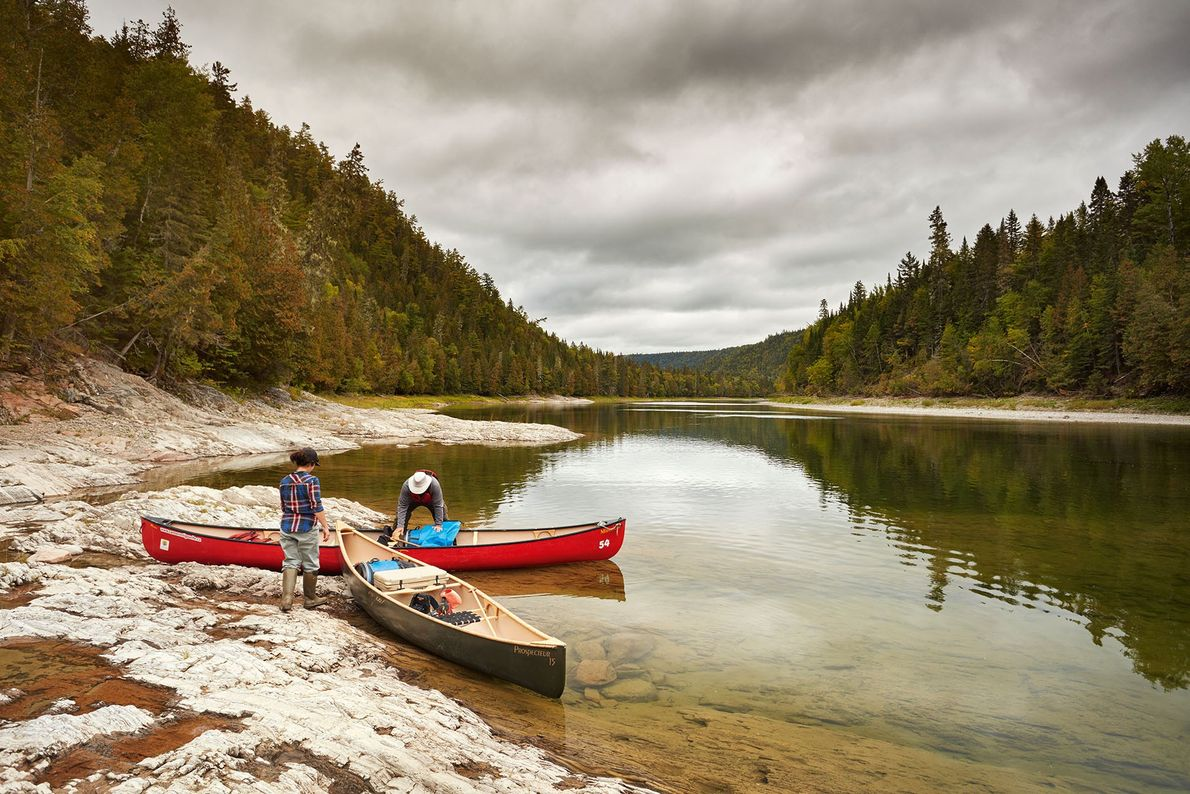 Shot from a camping trip along the Kedgwick, the main tributary of the Restigouche River.
