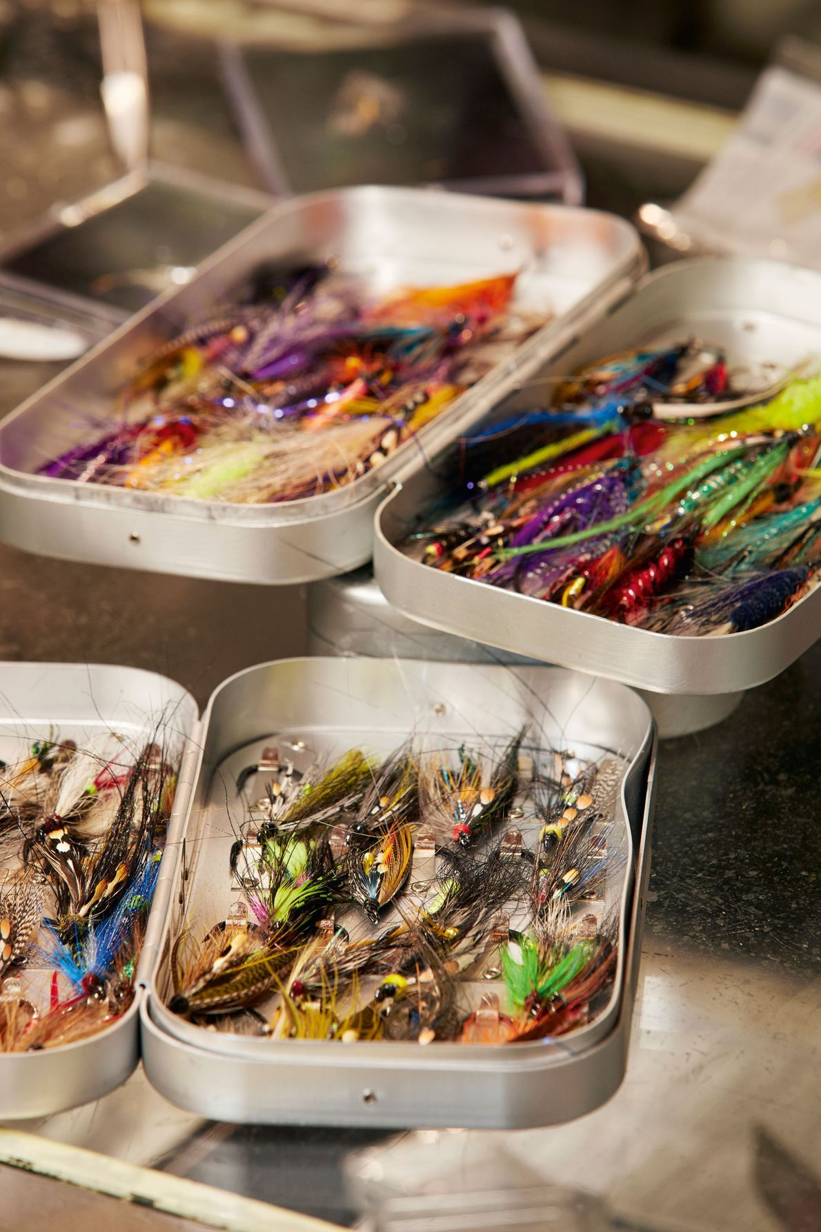 Bryant Freeman's hand-crafted flies are sought after by anglers across the world.