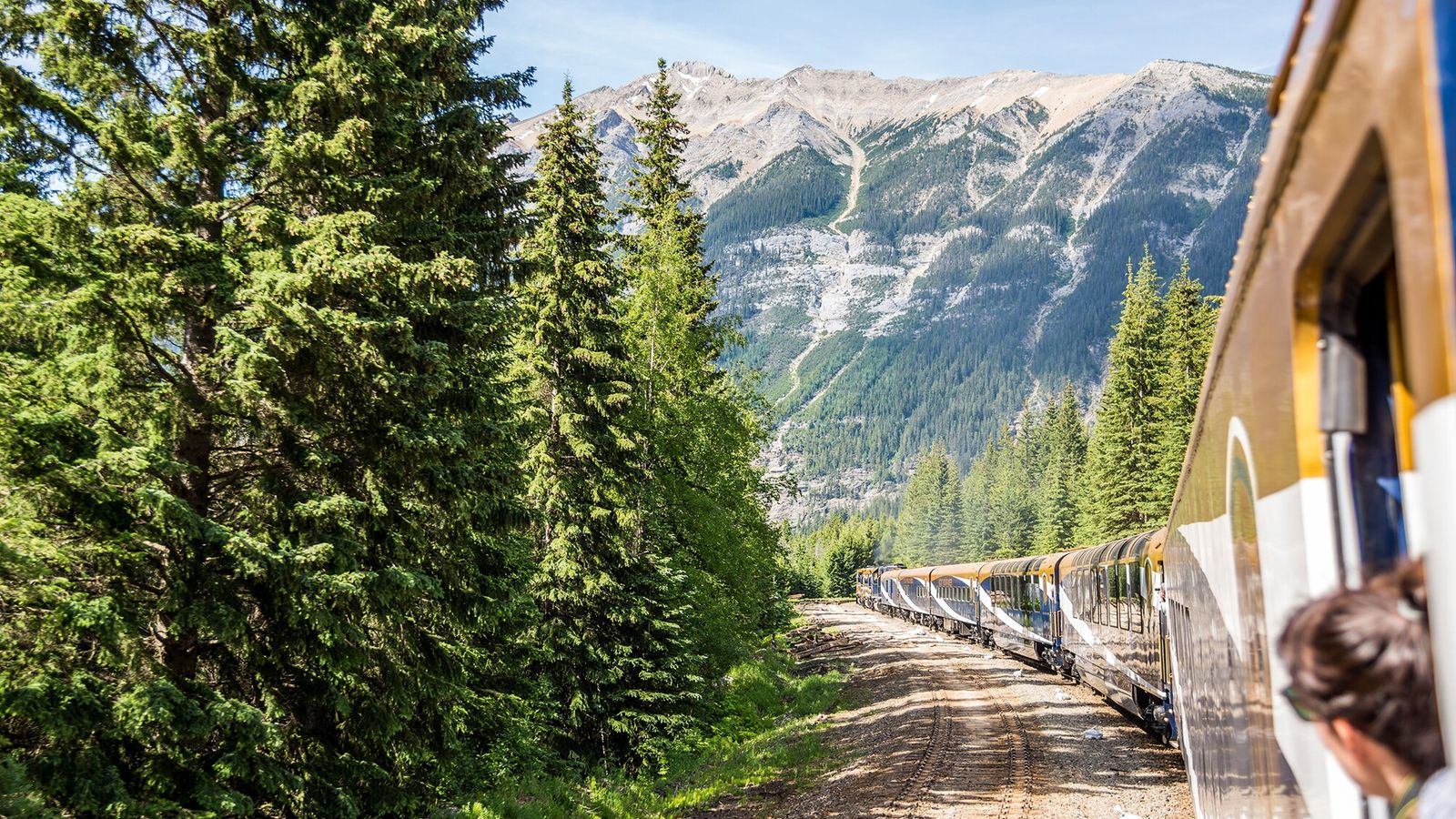 The Rocky Mountaineer bisects the wildlife-rich, forested valleys of British Columbia.
