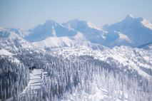 The ski resort of Whitefish is a 3,000-acre resort with 14 ski lifts that sits above ...