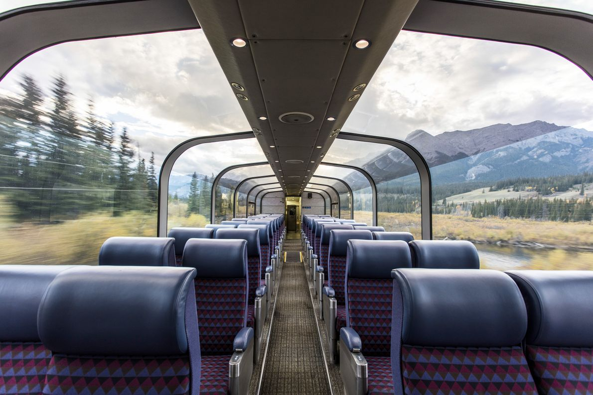 Take The Canadian, where passengers can spend three days watching the countryside scenery from Toronto to ...