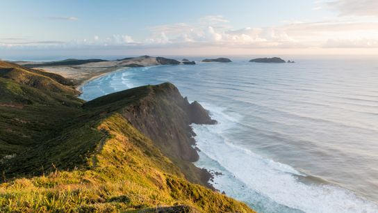 Considered the separation marker between the Tasman Sea and the Pacific Ocean, this is the north-westernmost ...