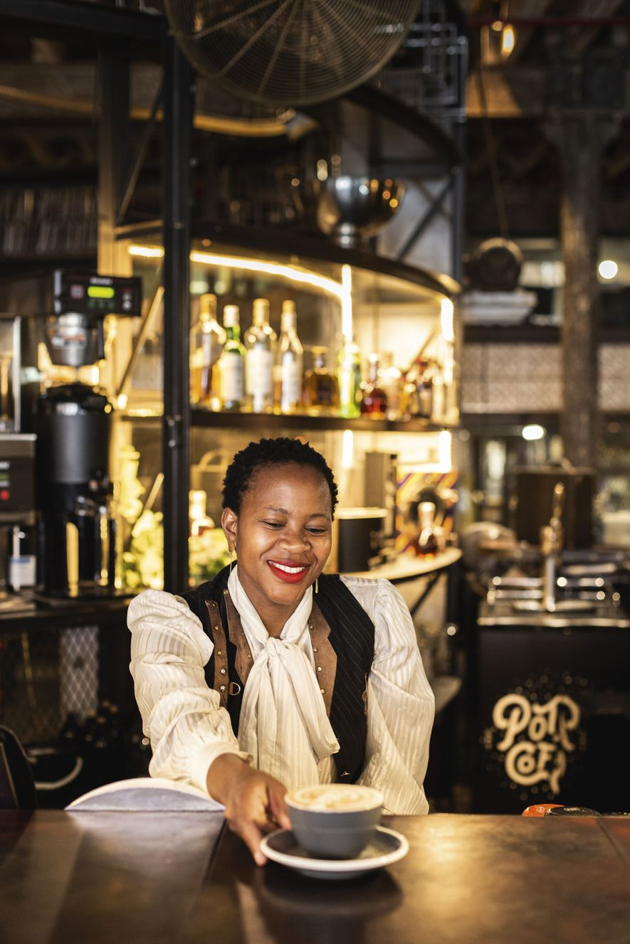 Buitenkant Street, on the outskirts of East City Precinct, is home to Truth Coffee, a fixture on Cape Town bucket lists. Located in a former furniture factory, this coffee shop doubles as a temple to steampunk, crammed with ostentatious gear-and-cog flourishes.