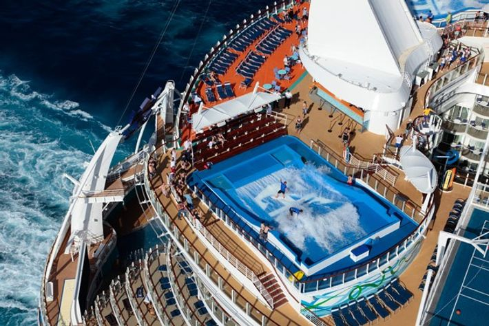 Royal Caribbean's Allure of the Seas.